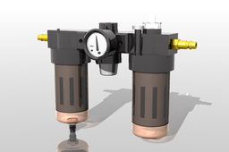 Nu-Line, In-line Air Oiler, Air Regulator valve, SMW Rotary table, valve adjust PSI