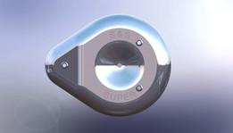 Teardrop Air Cleaner Cover