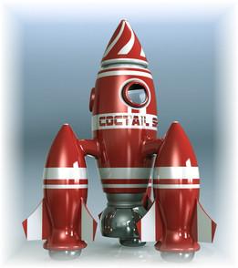 "Coctail Shaker ""Rocket"""
