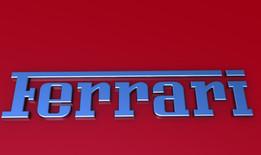 Ferrari Word Metal Badge