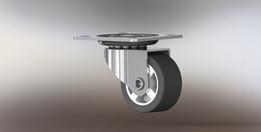 Miniature caster wheel