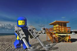 Lego Metal Detector