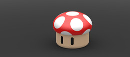 Mushroom (super Mario world)