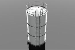 Rejected Water Tank 50 CU.M