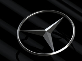 Mercedes-Benz logo and symbol 2009.