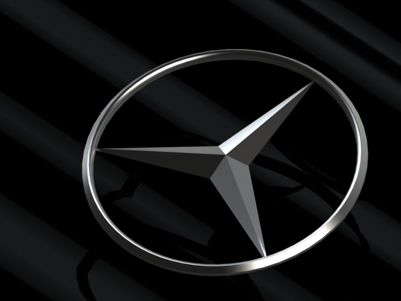 mercedes benz logo 3d image collections wallpaper and