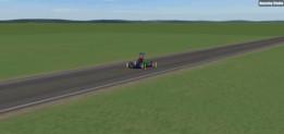 Go-Kart car @ high power engine