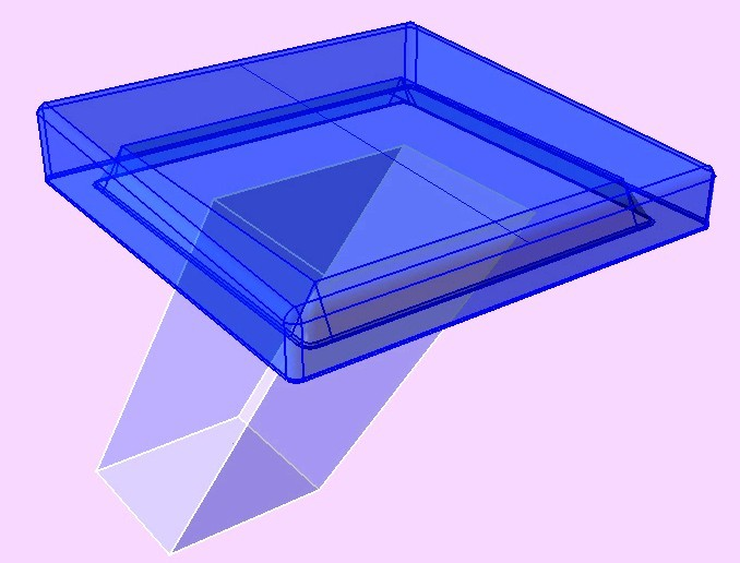 Swimming Pool Starting Block Step Iges 3d Cad Model