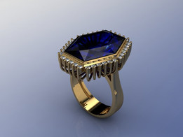 Big Blue Ring