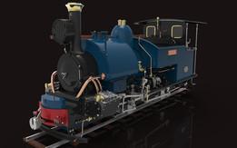 Darjeeling Class B 0-4-0 Locomotive Project Final