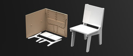 Mold for Doll house Chair | TRINOTA