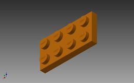 Lego 4x2 plate