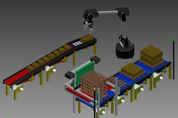 robot palletizer using adruino