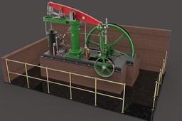 HORIZONTAL BEAM ENGINE PROJECT