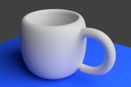 Cup design in Blender