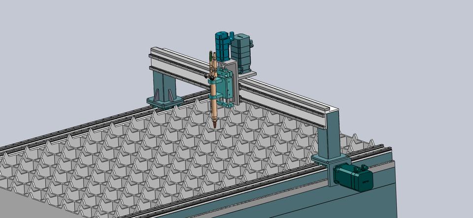 Cnc Plasma Cutter 3d Cad Model Library Grabcad