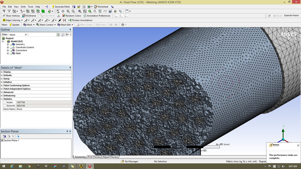 Ansys workbench cfx Heat Exchanger | 3D CAD Model Library