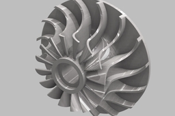 AutoCAD Impeller Assignment