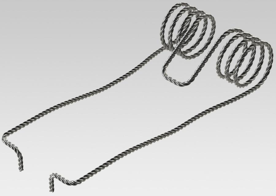 AK-47 Hammer Spring | 3D CAD Model Library | GrabCAD
