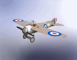 """Bristol M.1C """"Bullet"""" Basic model V1.0"""