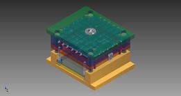 Ash-tray plastic mold