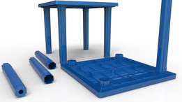 Plastic Table Model 03