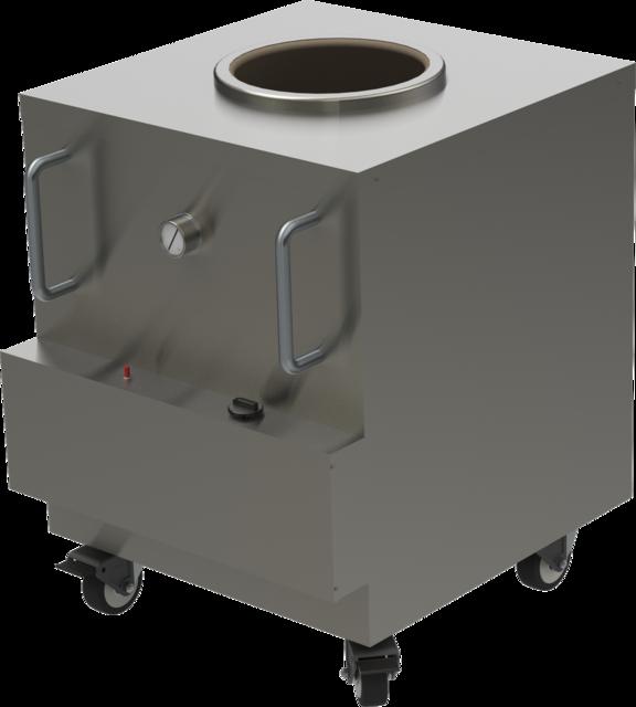 Tandoori Oven: Shahi Tandoor Oven-Size 2 | 3D CAD Model
