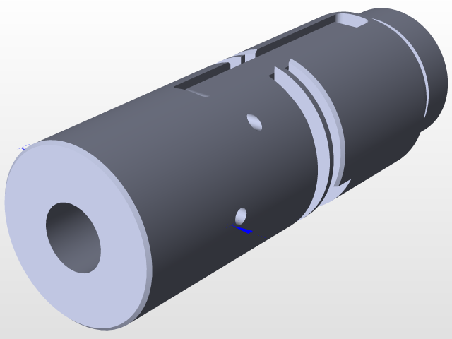 PDI airsoft VSR-10 hopup chamber | 3D CAD Model Library