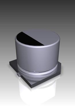Capacitores eletrolíticos SMD