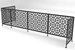 Decorative Guard Rail