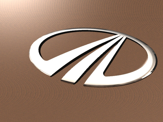 Request: mahindra logo | 3D CAD Model Library | GrabCAD