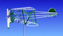 Biplane Wind Vane