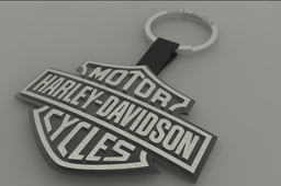 Harley-davidson key-ring