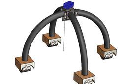 Lightweight Lunar gantry for Operations (ALLGO)