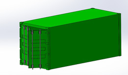 20ft Container With opening Doors