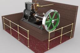 ROTARY STEAM ENGINE