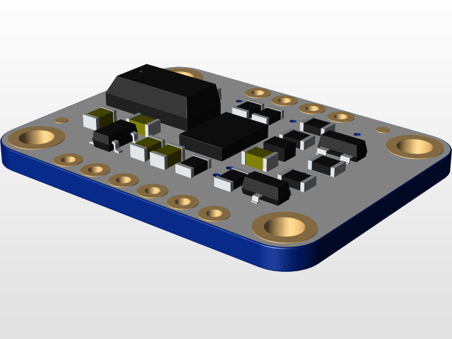 Adafruit BNO055 | 3D CAD Model Library | GrabCAD
