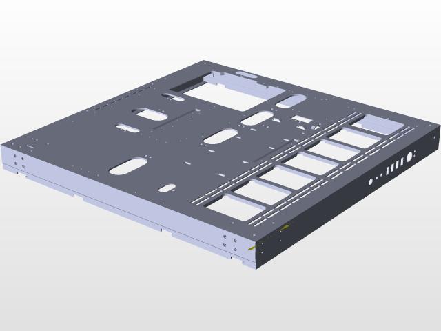 Thermaltake Core P5 | 3D CAD Model Library | GrabCAD