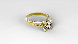 Jewelry Ring Rendering