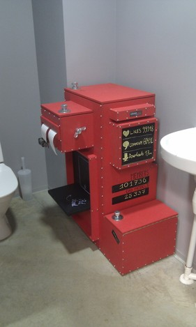 GrabCAD Toilet Paper Machine