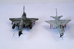 mig21 and mirage5