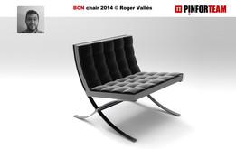 BCN chair by Roger Vallés