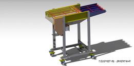 industrial food conveyer