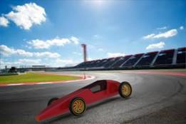 Conceptual F1 car