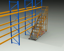 ladder for warehouses