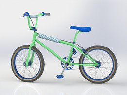 Bicycle - Old School BMX Bike