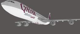Qatar Airways A340
