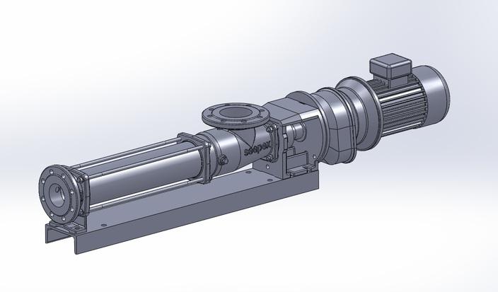 Seepex pump BN 17 6L
