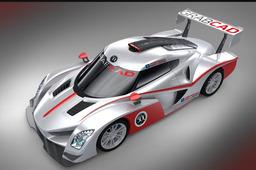 Tosa LMP car - Supercarbodychallenge