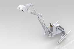 LTBackhoe for Lifetrac with standard bobcat interface attachment
